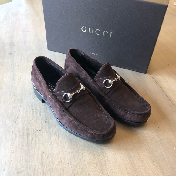 8965bef81 Gucci Shoes | Mens Classic Suede Horse Bit Loafer 9d | Poshmark